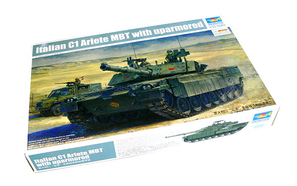 TRUMPETER Military Model 1/35 Italian C1 Ariete MBT with uparmored 00394 P0394