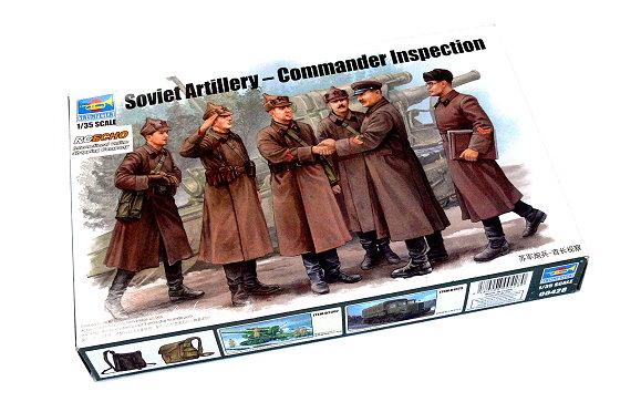 TRUMPETER Military Model 1/35 Soviet Artillery Commander Inspection 00428 P0428