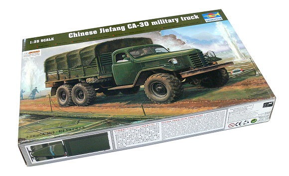 TRUMPETER Military Model 1/35 Chinese Jiefang CA-30 military truck 01002 P1002