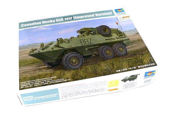 TRUMPETER Military Model 1/35 Canadian Husky 6x6 AVGP Improved Ver 01506 P1506