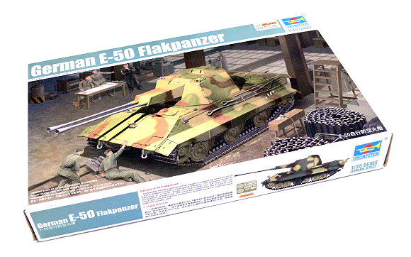 TRUMPETER Military Model 1/35 German E-50 Flakpanzer Scale Hobby 01537 P1537