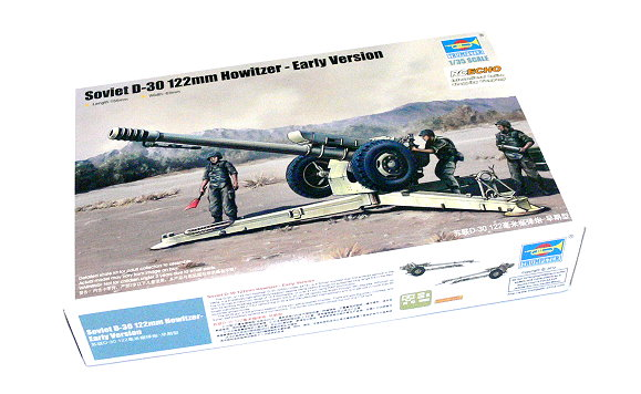 TRUMPETER Military Model 1/35 Soviet D30 122mm Howitzer Early Ver 02328 P2328