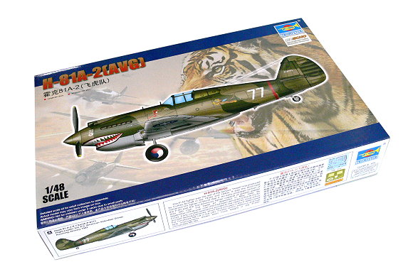 TRUMPETER Aircraft Model 1/48 H-81A-2 (AVG) Scale Hobby 05807 P5807
