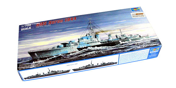 TRUMPETER Military Model 1/700 War Ship HMS Huron 1944 Scale Hobby 05759 P5759