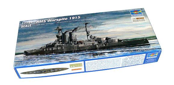TRUMPETER Military Model 1/700 War Ship HMS Warspite 1915 Hobby 05780 P5780