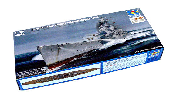 TRUMPETER Military Model 1/700 War Ship German Heavy Cruiser Admiral 05775 P5775