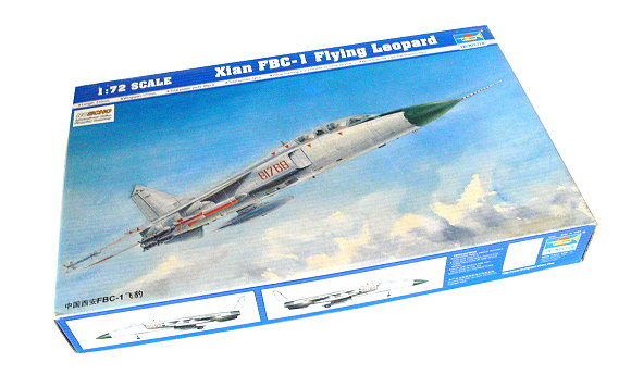 TRUMPETER Aircraft Model 1/72 Xian FBC-1 Flying Leopard Scale Hobby 01608 P1608