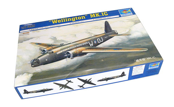TRUMPETER Aircraft Model 1/72 Wellington MK.IC Scale Hobby 01626 P1626