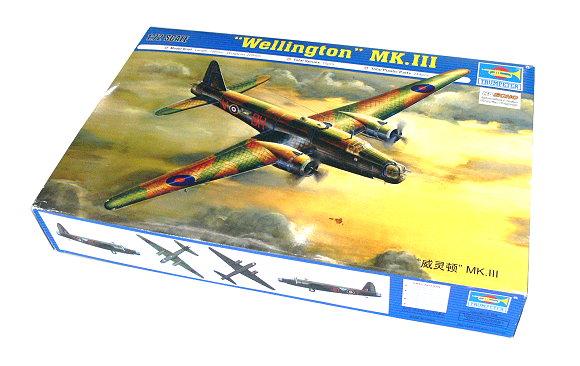 TRUMPETER Aircraft Model 1/72 Wellington MK.II Scale Hobby 01627 P1627