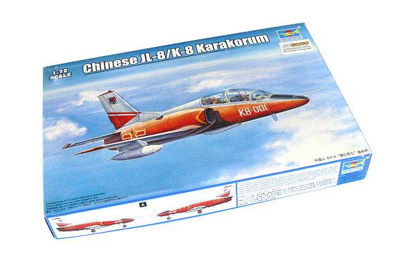 TRUMPETER Aircraft Model 1/72 Chinese JL-8/K-8 Karakorum Scale Hobby 01636 P1636