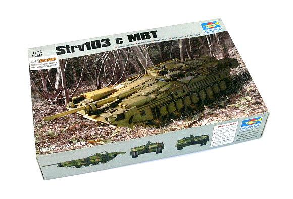 TRUMPETER Military Model 1/72 Strv103 c MBT Scale Hobby 07220 P7220