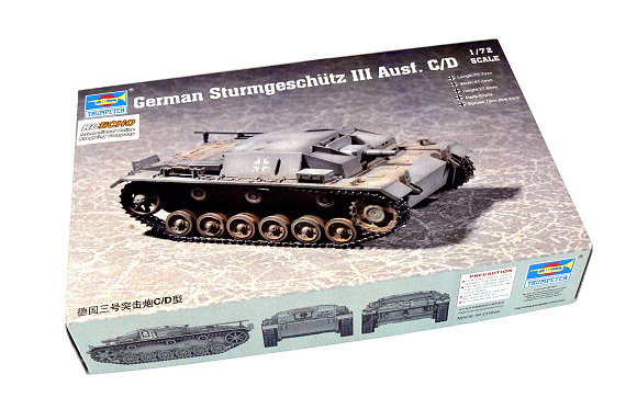TRUMPETER Military Model 1/72 German Sturmgeschutz III Ausf. C/D 07257 P7257
