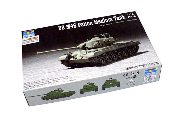 TRUMPETER Military Model 1/72 US M46 Patton Medium Tank Scale Hobby 07288 P7288