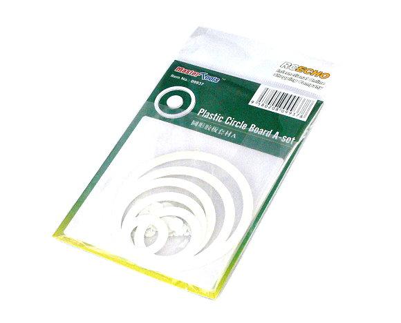 TRUMPETER Model Craft Master Tools Plastic Circle Board A-set 09937 P9937