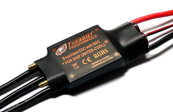 TURBOJET Model 100A Water Cool RC Ship Brushless ESC Speed Controller SL188