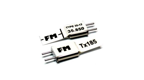 RC Model Tx & Rx FM 35.850 MHz R/C Hobby Receiver & Transmitter Crystal CY515