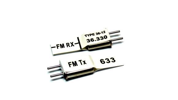 RC Model Tx & Rx FM 36.330 MHz R/C Hobby Receiver & Transmitter Crystal CY533