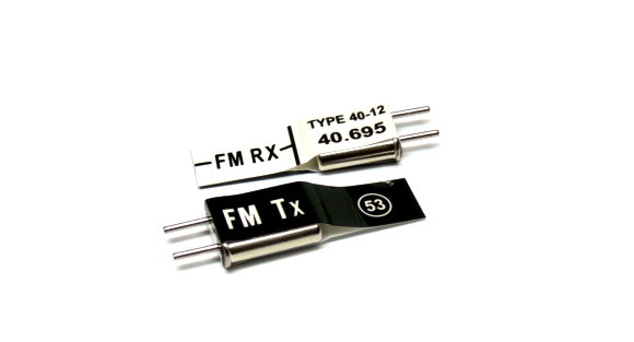 RC Model Tx & Rx FM 40.695 MHz R/C Hobby Receiver & Transmitter Crystal CY553