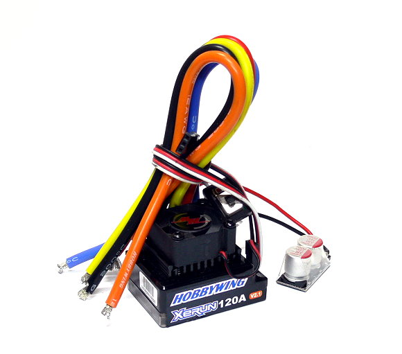 HOBBYWING XERUN Black V2 RC Brushless Motor 120A ESC Speed Controller (Used)