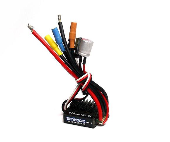 HOBBYWING EZRUN TEKMODEL RC Brushless Motor 18A ESC (Used) UD025