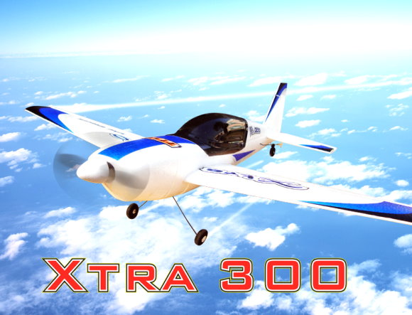 Nine Eagles RC Model XTRA 300 2.4GHz 4ch Airplane & Transmitter RTF (New) UD044