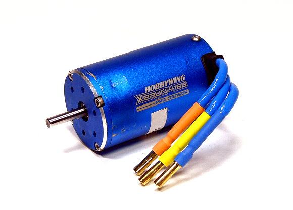 HOBBYWING XERUN RC Model 4168SD 2250KV R/C Hobby Sensored Brushless Motor (Used) UD049