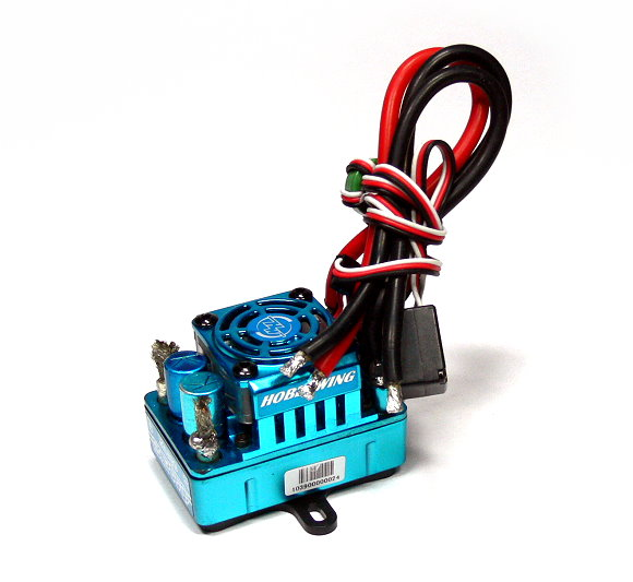 HOBBYWING XERUN SCT PRO Blue 120A RC Brushless Motor ESC Speed Controller (Used) UD050