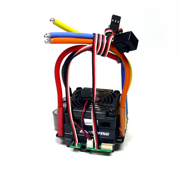 HOBBYWING EZRUN RC Model Brushless Motor 150A ESC Speed Controller for 1/8 (Used) UD054