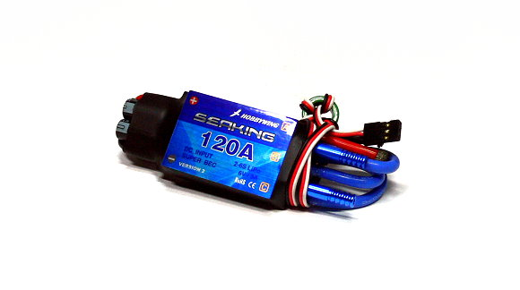 HOBBYWING SEAKING 120A Water Cool RC Model Ship Brushless Motor ESC (Used) UD057