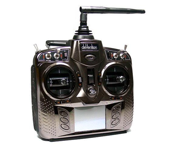Walkera Devention DEVO 8S 2.4GHz 8ch Telemetry Transmitter & Receiver M1 TS868