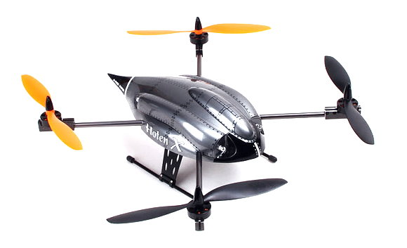 Walkera Hoten-X RC Model 2.4GHz 4ch 6 Axis Gyro Quadcopter (Body Only) QC620