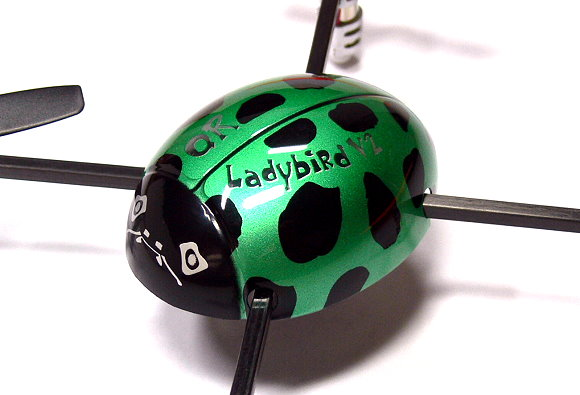 Walkera QR Green Ladybird V2 Quadcopter & DEVO 4 Transmitter RTF (Mode 2) QC600