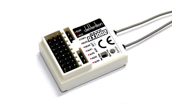 Walkera RC Model White DEVO-RX1002 2.4GHz R/C Hobby Receiver RV134