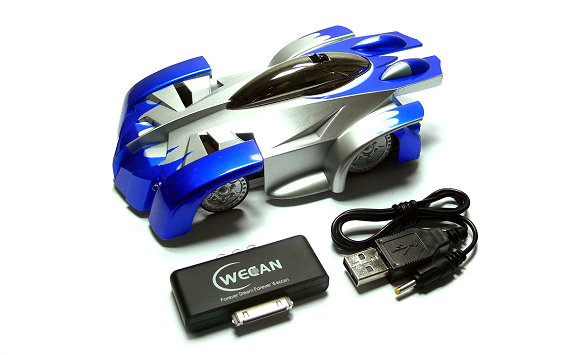 WECAN Model iW500 iSpace R/C Hobby Blue Car for use with iPod iPhone iPad EC550
