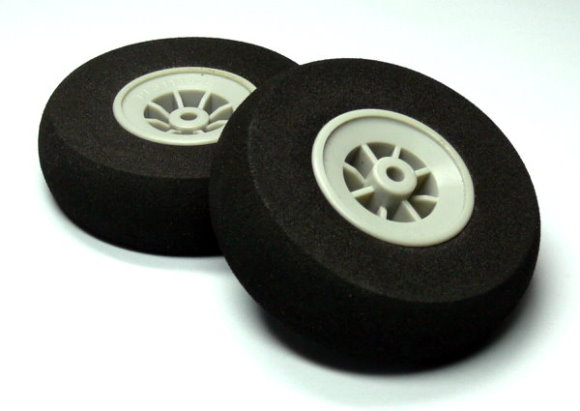 RC Model Airplane 70mm 2.75 in. R/C Hobby Wheels Tires (2pcs) WH794