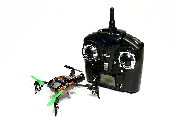 Wltoys RC V202 Scorpion 4ch 2.4GHz Triple Axis Gyro Quadcopter (Mode 2) QC550