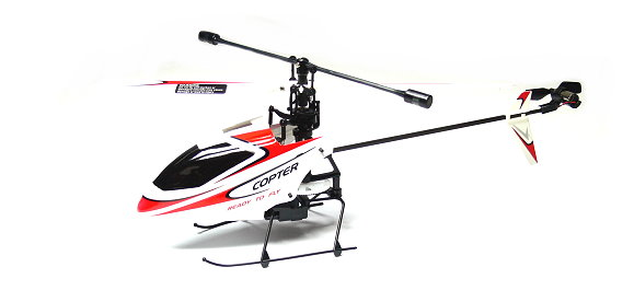 Wltoys RC Model V911 4ch 2.4GHz Remote Control Red Helicopter (Mode 2) EH010