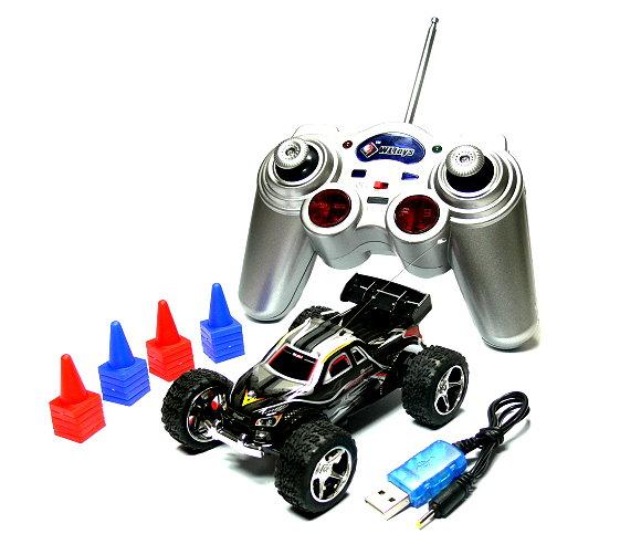 Wltoys RC 2019 Black Mini High Speed Racing Remote Radio Control R/C Buggy EC400