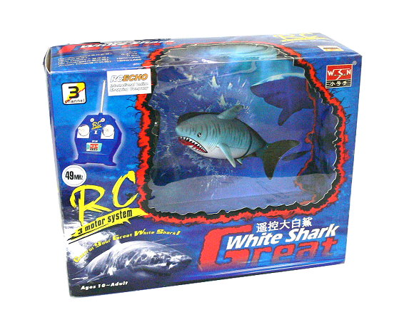 WSN RC Model Ship Great White Shark 3 Motor Control System Hobby 07009 ES600