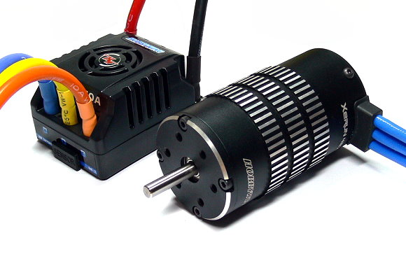 HOBBYWING XERUN 4274SL 2000KV Brushless Motor & 150A ESC +LCD Program Card ME237