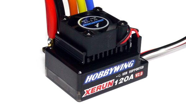 HOBBYWING XERUN Black V2 RC Brushless Motor 120A ESC Speed Controller SL253