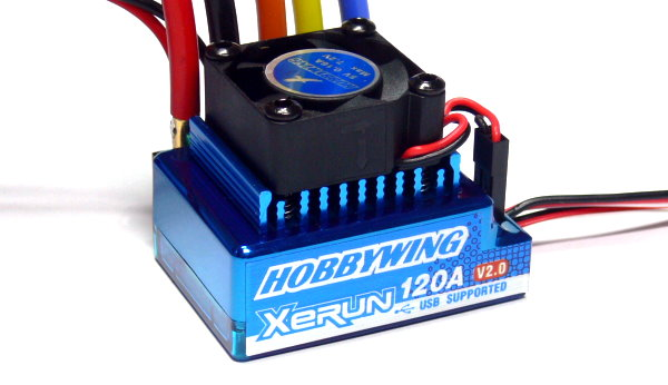 HOBBYWING XERUN Blue V2 RC Model Brushless Motor 120A ESC Speed Controller SL247