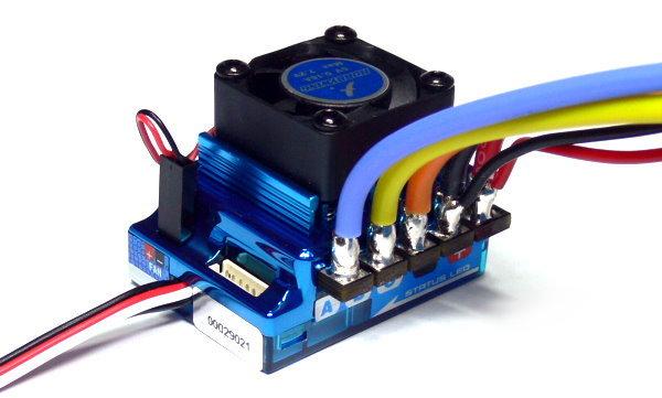 HOBBYWING XERUN Blue V2 RC Model Brushless Motor 120A ESC Speed Controller SL247