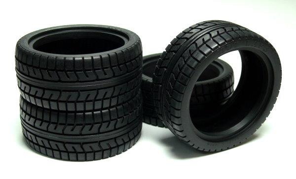 Yokomo RC Model ZR-080D High Grip P3 Radial Tires (4pcs) WT465