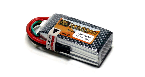 ZOP RC Model 1500mah 11.1v 30C LiPo Li-Polymer Lithium Polymer Battery RB084