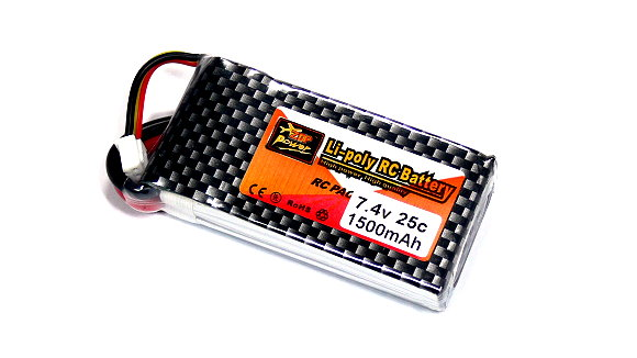 ZOP RC Model 1500mah 7.4v 25C LiPo Li-Polymer Lithium Polymer Battery RB079