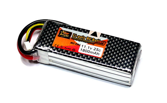 ZOP RC Model 1800mah 11.1v 25C LiPo Li-Polymer Lithium Polymer Battery RB088