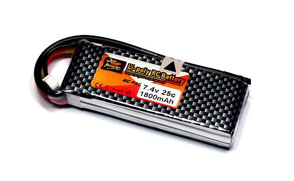 ZOP RC Model 1800mah 7.4v 25C LiPo Li-Polymer Lithium Polymer Battery RB085