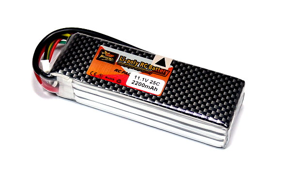 ZOP RC Model 2200mah 11.1v 25C LiPo Li-Polymer Lithium Polymer Battery RB094