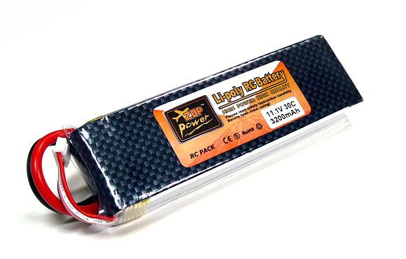 2x ZOP RC Model 3200mah 11.1v 30C LiPo Li-Polymer Lithium Polymer Battery CA199
